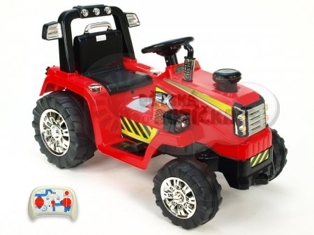 mit R/C Kinderauto Kinderelektroauto Kinderelektrofahrzeug Kinder elektroauto 12V Traktor rot RC