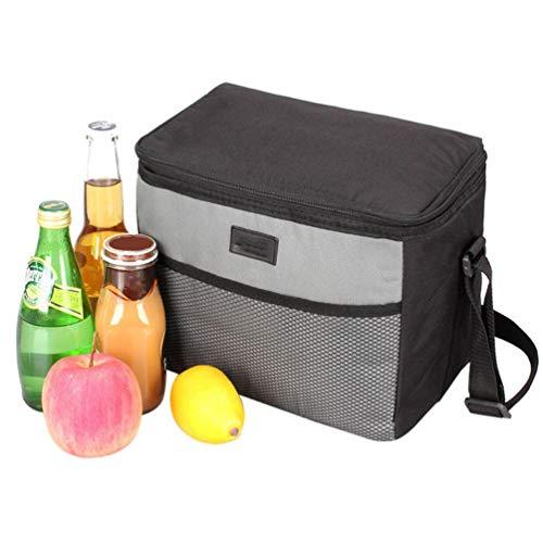 HAHALE Picknicktaschen Isotherm-Kühltasche Kühlschrank Lunch Box Beach Kühlschrank Camping Reise Barbecue Grill-Tools Bier Getränk Korb