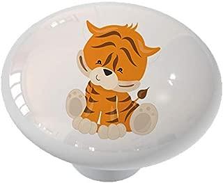 Nursery Safari Tiger Drawer/Cabinet Knob by Gotham Decor
