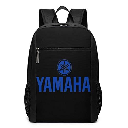 Rucksack Yam-aha Motorrad Business School Laptop Rucksack Reise Wandertasche für Männer Frauen Kinder Tagesrucksäcke College Reiserucksack Schultasche 17 Zoll