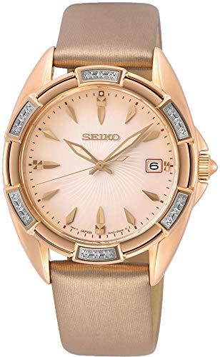 Seiko Quarz SKK726P1 Reloj de Pulsera para mujeres