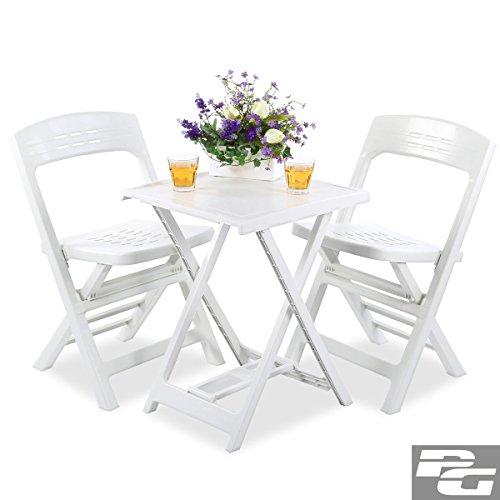 LD tuin balkon meubelset zitgroep tafel garnituur klapstoel eettafel loungeset