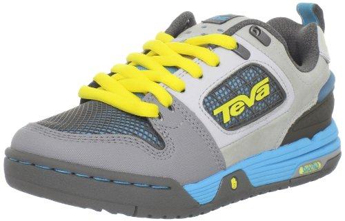Teva Men's The Links Shoe,Charcoal Grey,4 M US