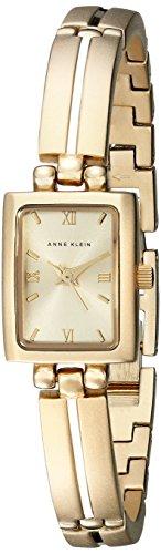 Anne Klein Women's 10-5404CHGB Gold-Tone Dress Watch