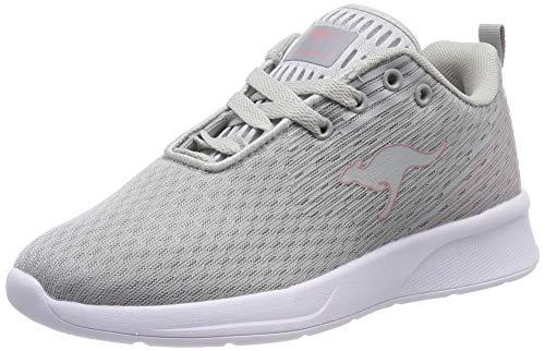 KangaROOS Unisex-Erwachsene KangaFOAM Adult ACT Sneaker, Grau (Vapor Grey/Dusty Rose 2075), 41 EU
