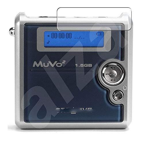 Vaxson 3 Pièces Film Protecteur d'écran en TPU, compatible avec Creative NOMAD MuVo2 / MuVo 2 [pas en Verre Trempé] Screen Protector Guard