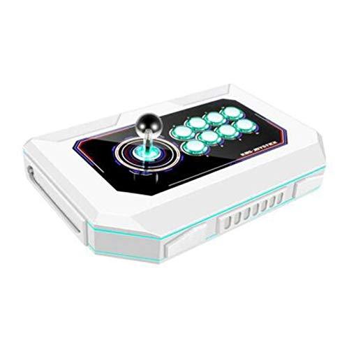 Wsaman Gioco Sanhe Controllo della Luce Respiratoria A 8 Colori, Domestica Mini Palmari Console con Pulsanti Personalizzati Joystick Domestico per ComputerTV Proiettore Console