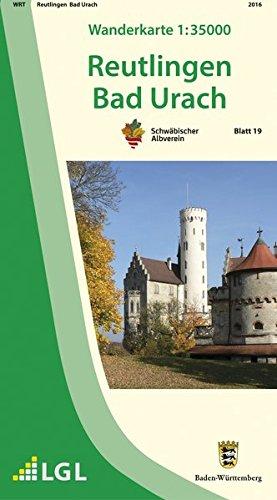 Wanderkarte 1:35000 Reutlingen Bad Urach (Wanderkarten 1:35 000)