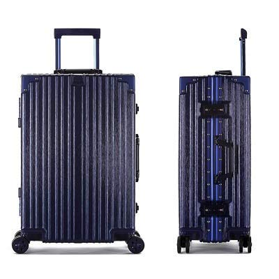 Wujiancheng Luggage Sets Aluminum Frame Trolley Case Universal Wheel Scratch Resistant 24 Inch Luggage PC Suitcase 20 24 26 29inch Boarding Case Travel (Color : C5, Size : 26inch)
