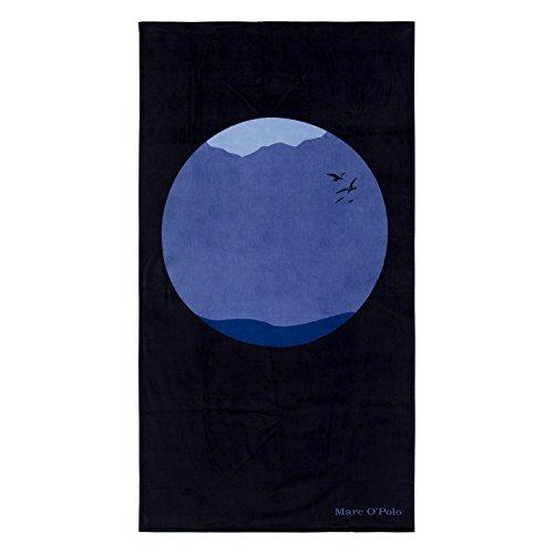 Marc O'Polo Strandlaken Sea Circle Nightblue 100x180 cm