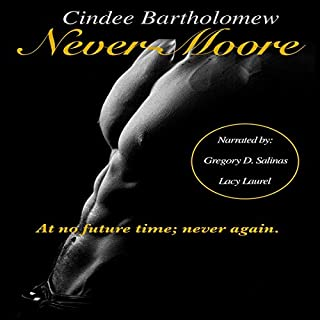 Never-Moore audiobook cover art