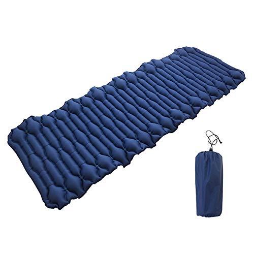 Knowled - Esterilla de dormir hinchable, para camping, para dormir, ligera y compacta, colchoneta de mochila de inflado