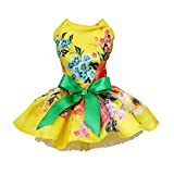 Handfly Hundebekleidung Hunde Kleid Pet Dog Dress Dog Kleidung Elegante Prinzessin Dress Tutu Queen...