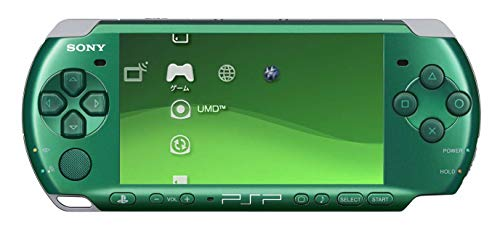 New Sony Playstation Portable PSP 3000 Series Handheld Gaming Console System (Renewed) (Spirited Green)
