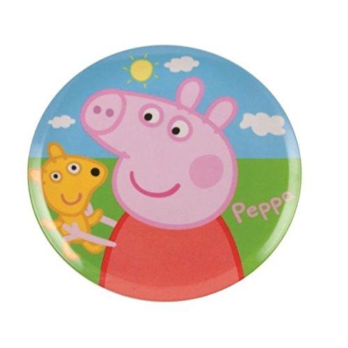 The Home Fusion Company Peppa Pig Enfants Mélamine Plaque Déjeuner Dîner Snack Nourriture Fêtes Cadeau
