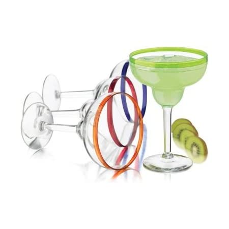 Anchor Hocking Arianna 14.5 Ounce Margarita Glass Set of 4