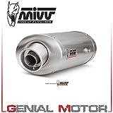 New UH.027.LX2 Tubo De Escape Silenciador MIVV Oval Acero Bajo colin Cbr 600 Rr 2006 06