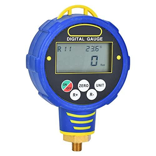 conveniente refrigerante de aire acondicionado con manómetro digital R32 para WK-6881H