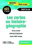 Les cartes en histoire géographie 1re année ECS - Manuel de cartes