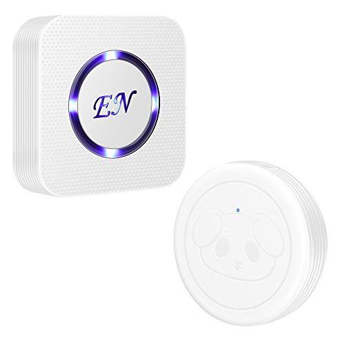 EverNary Wireless Dog Doorbell Smart Doggie Doorbell Waterproof Touch Button for Puppy Potty Training