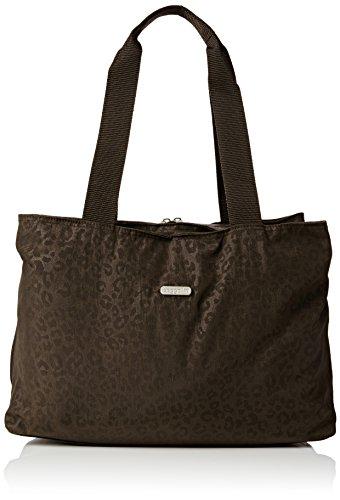 Baggallini Only Bag Cabas, Marron (Cheetah Espresso)