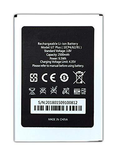 Bateria Compatible con Oukitel U7 Plus   2500mAh   1ICP4/62/91