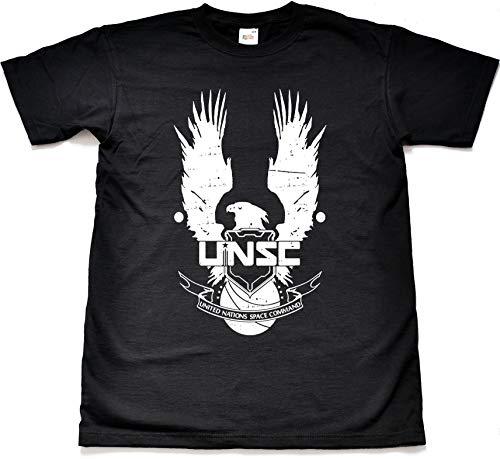 NR Distressed UNSC Xbox Black T Shirt Large