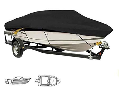 Bootsplane 600D Persenning Boot Motorboot Bootsabdeckung Heavy Duty Boat Cover Persenning Bootsabdeckplane Für Schlauchboot Bootsplane Boot Einsetzbare Abdeckplane Bootsverdeck,14~16ft