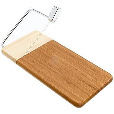 Prodyne Cheese Slicer, Bamboo