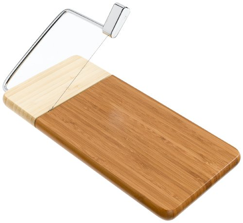 8-Prodyne Bamboo base Cheese Slicer