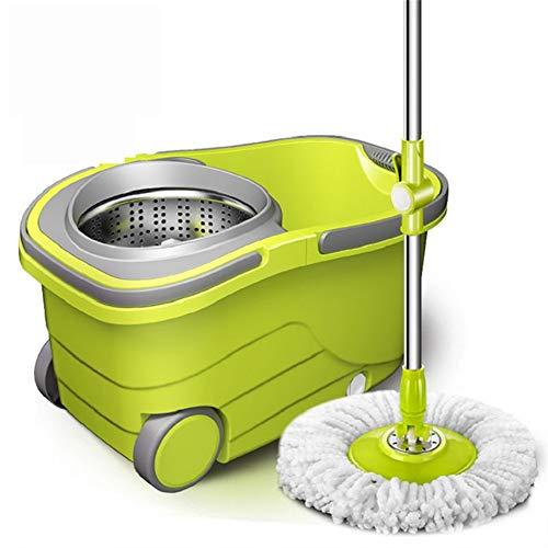 Schneller Versand Abgehängte Trennung Eimer Mop mit Rollen Spin Mop Reinigen Kopfreinigung Böden Fenster Haus Car Clean Werkzeuge