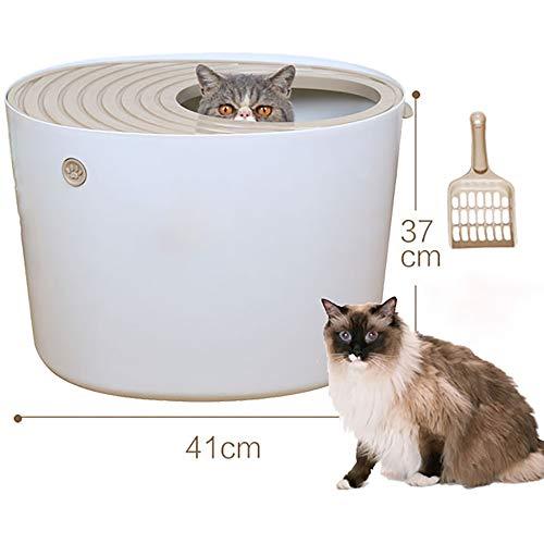 Arenero Para Gatos Cubierto Grandes Autolimpiable