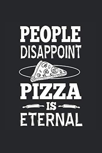 Cuaderno: La Pizza Eterno Odio A La Gente Sarcasmo Regalo  120 Páginas, 6X9 (Aprox. A5), A Cuadros