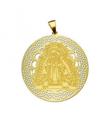 Medalla Virgen de la Soledad Oro