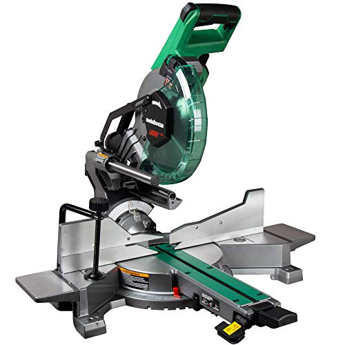 Metabo HPT 10-Inch Sliding Miter Saw | Zero Rear Clearance Slide System |...