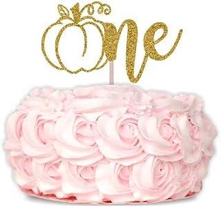 One Cake Topper, Pumpkin Cake Topper, 1st Birthday Cake Topper, Pumpkin 1st Birthday Theme, Little Pumpkin, First Birthday Cake