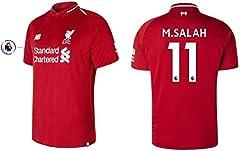 Camiseta FC Liverpool Primera Equipación 2018/2019 M. Salah 11