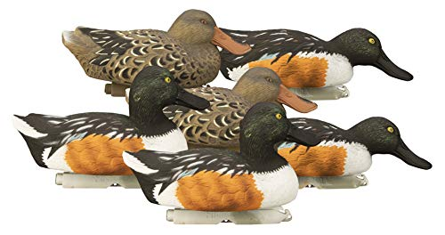 Higdon Outdoors Standard Shoveler Duck Decoys