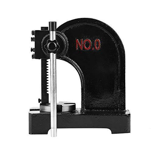 Arbor Press, Punch Press Machine, 0.5T Manual Desktop Punch Press Machine, Hand Punch Press Machine, Parfait pour assembler des tubes en laiton dans des ébauches de stylos en bois