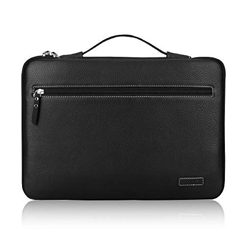 FYY 12-13.5' [Genuine Leather] Laptop Sleeve Case Cover Bag for MacBook Pro/MacBook Air/iPad Pro...