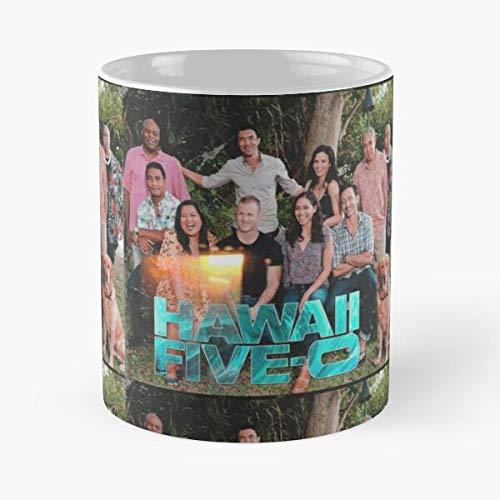 0 Season Hawaii Five 10 Best 11 oz Kaffeebecher - Nespresso Tassen Kaffee Motive