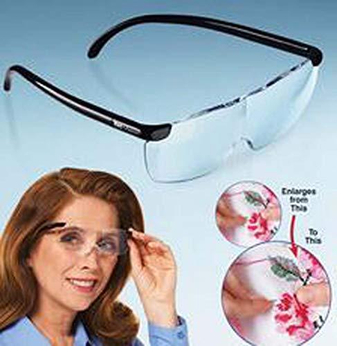 ZTYD 250° Leesbril Vergrootglas, 160° Vergrootglas, Geweldig voor Ouderen, Lezen Kranten, Ambachten, Werkbank
