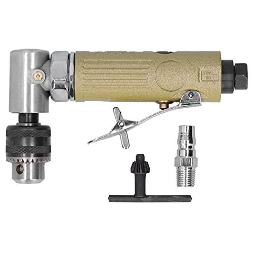 Taladro de aire, aleación de zinc, 16000 rpm, herramienta de perforación de aire de 90 grados para pulir, esmerilar y perforar