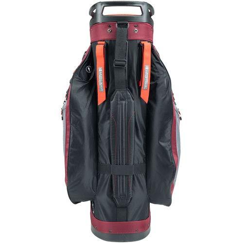 Product Image 7: Sun Mountain C-130 Cart Bag Golf Black/Garnet/Gunmetal/Inferno 2020 New