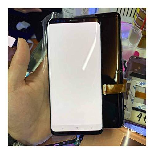 BBGSFDC Adecuado Ajuste LCD S9 S9 Plus For Samsung S9 S9 + Plus LCD de Pantalla táctil con un Ajuste capítulo For la Galaxia S9 SM-G965 G96O Reparación LCD Favorable (Color : S9 Black No Frame)