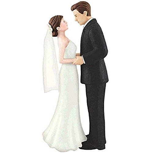 amscan Bride & Groom Cake Topper | Wedding and Engagement Party