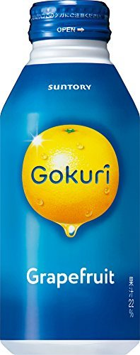 Gokuri グレープフルーツ 400g×24本 缶