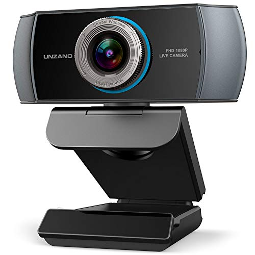 Full HD Webcam 1080P, Streaming Camera,...