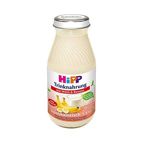 HIPP TRINKNAHRUNG MILCH/BANANE HOCHKALORISCH - 6X200 ml