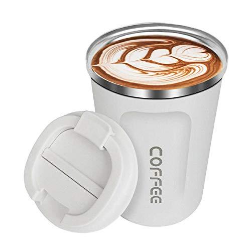 Eidoct 380 ml Thermosflasche, Kaffeebecher, verdickt, für Auto,...